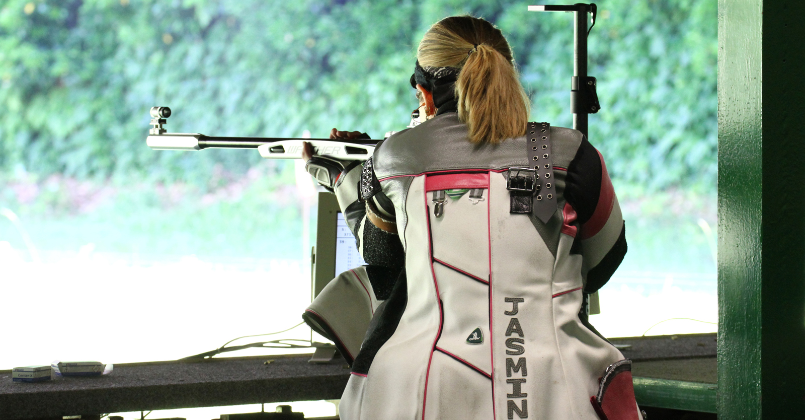 Jasmin Kitzbichler siegte im KK-Dreistellungsmatch der Rifle Trophy Innsbruck © Tina Neururer, ÖSB