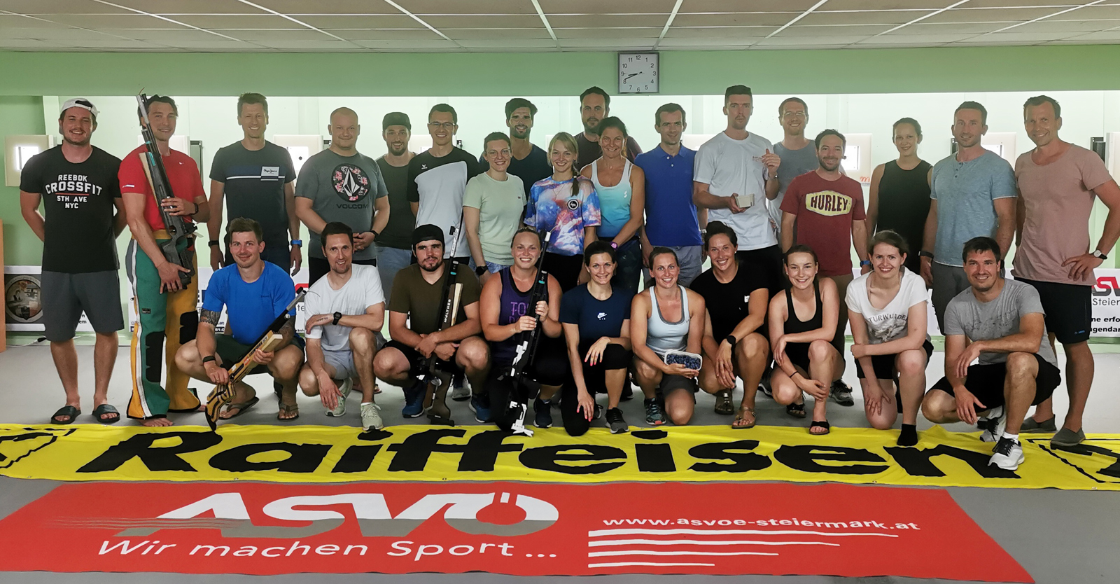Die TeilnehmerInnen des Grundkurses der Trainerausbildung © Martin Strempfl