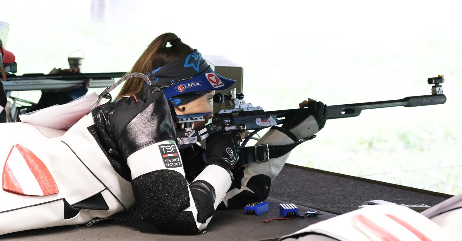 Ein Topresultat gelang Rebecca Köck, die sich - ebenfalls mit einem neuen Österreichischen Rekord - zur Staatsmeisterin 2021 kürte © Tina Neururer, ÖSB
