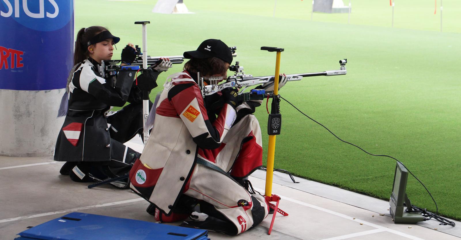 Das beste österreichische Resultat der ersten Qualifikation kam von Kiano Waibel, der gemeinsam mit Nadja Krainz den zehnten Platz erreichte © Margit Melmer, ÖSB